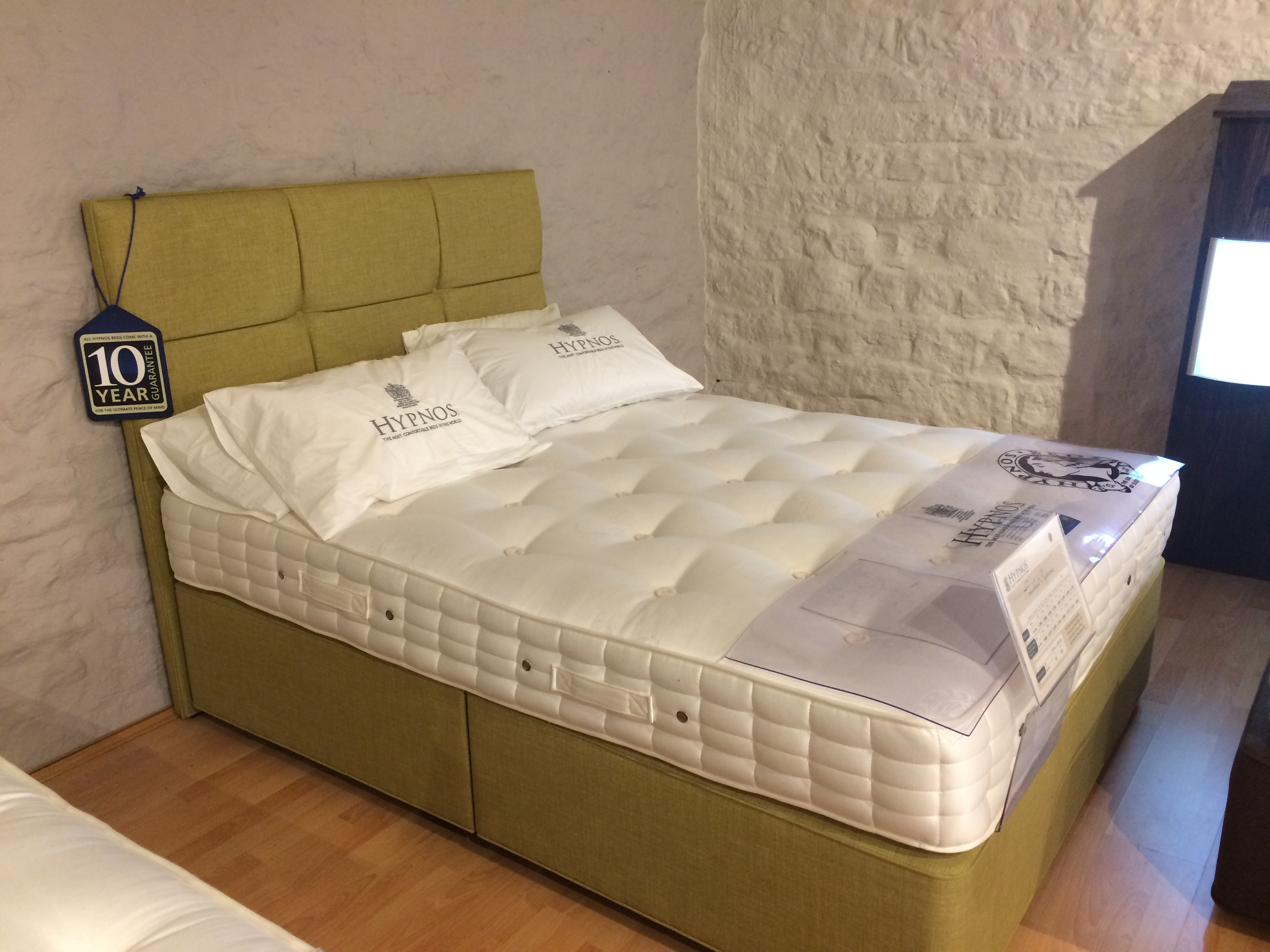 The Hypnos President Supreme  Ex Display. Ex Display Beds included in the January Sale   The Carriage