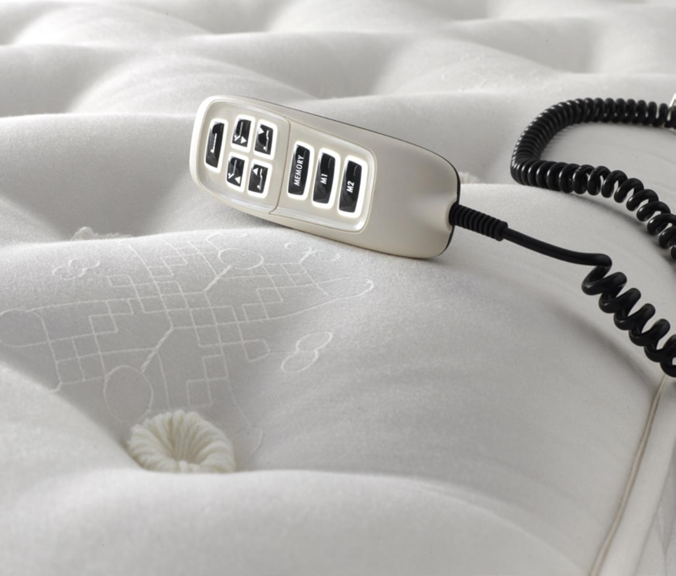 adjuster bed controls