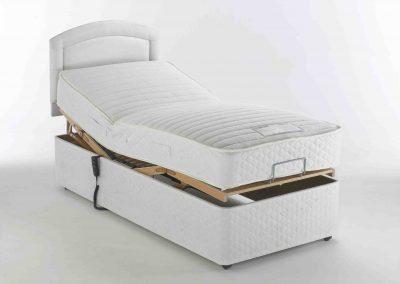 MiBed Alpina Base and Mattress – Adjustable Bed