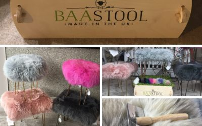 BAA Stool Products Have arrived at the Carriage